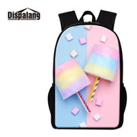 красивые рюкзаки для девочек оптовых-2019 Factory  Primary Students Cute Cotton Candy Kids Backpack School Book Bag Girls Knapsack Pretty Cartoon Image Children