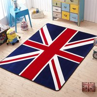 Wholesale american flag carpet for sale - Group buy High Quality Non Slip Durable Carpet for Living Room Home Door Mats England Flag Cool Carpets Durable Waterproof Kitchen Rug
