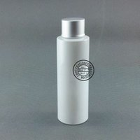 Wholesale plastic vials lids resale online - 50X120ml Empty white Cosmetic Bottles With Aluminum Lid CC Travel Size Plastic Bottle With Sealed Lid Vial Container
