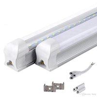 integrado de 4 pés led t8 tubo luzes venda por atacado-Integrado T8 Tubo de LED 4FT 22W SMD 2835 tubos Lâmpada Luz 1.2M 85-265V Bulb iluminação fluorescente levou