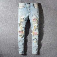 ingrosso jeans di chiusura lampo per gli uomini-