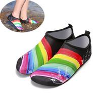sapatos de mergulho venda por atacado-Praia de Esportes de Água Meias de Mergulho Mergulho 5 Cores Natação Snorkeling Não-slip Seaside Praia Sapatos Meias de Surf Respirável Terno Sapatos