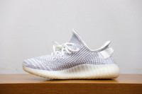 79162f735 Newest Authentic 350 V2 Static Reflective Sply Sneaker Kanye West White  Athletic High Quality Sports Running Shoes EF2367 With Original Box