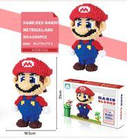 Wholesale special block for sale - Group buy 31cm Education Mini Nano block For Kids Special Gift Cartoon Figure Super Mario Model Building Magic Blocks Bricks Toy
