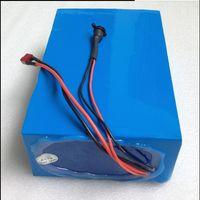 cargador para ebike al por mayor-48V 15AH Batería 48V 15AH 1000W Ebike E-scooter Batería de iones de litio 30A BMS y 42V 2A Cargador Impuesto de aduanas gratuito