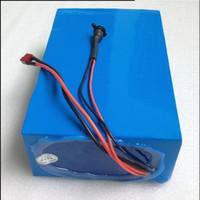 chargeur pour ebike achat en gros de-Batterie 48V 15AH Batterie au lithium-ion 30A BMS et 42V 2A Chargeur Taxe de douane gratuite 48V 15AH 1000W Ebike E-scooter