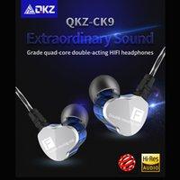 cadeaux de musique chine achat en gros de-Nouveau 2019 QKZ CK9 dans l'oreille oreille oreille écouteur stéréo course sport casque universel conduite musique cadeau bavarder livraison gratuite fabriqué en Chine
