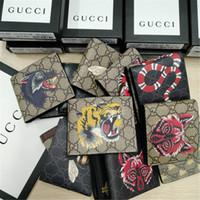 bolso de mujer negro al por mayor-billetera billetera de lujo para hombre monedero de diseñador para mujer bolsos de lujo monederos bolsos de embrague de cuero negro monedero de diseñador de tarjetas 1 2