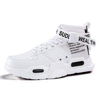 sapatos de hip hop vermelhos venda por atacado-Net Red Andando Sapatos Designer de Mulheres Homens High-top Sneakers 2019 Hip Hop Estilo Casual Sapatos Masculinos de Verão