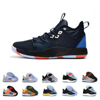 Wholesale george pig plush resale online - 2019 Paul George PG Palmdale III Pgeorgd Basketball Shoes Cheap PG3 Starry Blue Orange Red Black s Trainers Sports Sneakers Size