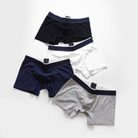 Hot selling 2019 Cotton Men Boxers Breathable Popular Comfortable Man Underwear Panties Size M~XL Drop shipping High Quality