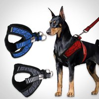 ingrosso imbracature che tirano-2019 nuovi calda No-pull Sport riflettente del cablaggio del cane conduce per Small Medium Dog Training Vest Harness