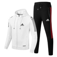 sıcak spor giyim toptan satış-Sıcak Satış Suit Erkekler Spor Baskı Erkekler Hoodies Kazak Hip Hop Erkek eşofman Tişörtü Giyim