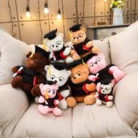 ce teddy großhandel-Karikatur-Plüsch-Teddybär-Spielzeug-Plüschtier-Puppen-Geschenke für Kind-Kind-nette kleine Handgriff auf Spielzeug für das Reisen nach Hause Spielen im Freien