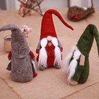 muñeca grande de santa claus al por mayor-Feliz Navidad Adornos de regalos de Santa Claus Árbol de tela muñeca de juguete 43 * 13cm grande de Navidad Navidad de la muñeca ventana árbol decoraciones de la caída