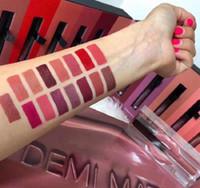 Wholesale lipsticks low prices resale online - low price set makeup Beauty Lipgloss Demi Matte Liquid Lipstick Lip Cosmetics Lip set set hot item