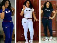 Wholesale white soccer pants resale online - Summer short sleeve tracksuit Women brand jogger suit solid color outfits sportswear Tshirt Top Pants Set plus size XL sweatsuits