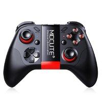 mini joystick pc großhandel-MOCUTE 054 Wireless Gamepad Bluetooth Gmae Controller Joystick Für Android / iSO Telefone Mini Gamepad Für Tablet PC VR box Gläser