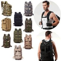Wholesale wholesale camping clothing online - Tactical Camping Military Backpacks Universal Combat Rucksack Trekking Camouflag Army Trekking Bag Hiking Outdoor Sport Bag OOA6165