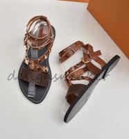 Wholesale shoes canvas injection resale online - Top Summer Women Sandals Designer Shoes Luxury Slide Summer Fashion Wide Flat Slippery Sandals Slipper Flip Flop Canvas Plain