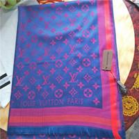 ingrosso sciarpe di filati-Sciarpa di lana jacquard di alta qualità di alta qualità in morbido cotone tinto in filo di cotone di alta qualità all'ingrosso