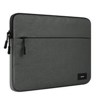 tablet pc 11.6 toptan satış-Macbook Hava Pro Için laptop Çantası Retina 11.6 13.3 14 15.4 Inç PC Tablet Kılıf Mac Kitap Çanta Çanta Kadın Ve Erkek Kesesi D'ordinateur