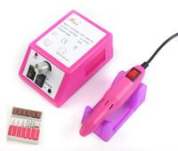 ferramenta de ferramentas para ferramentas profissionais venda por atacado-Prego Polisher Prego Broca Manicure Máquina Nail Art Equipment Pro 20000 RPM Elétrica Manicure Arquivo Pedicure Kits Cortador de Ferramentas