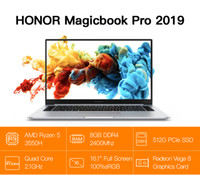 Wholesale huawei laptops resale online - HUAWEI HONOR MagicBook Pro Laptop Notebook Computer HLY W19R Ryzen H GB GB Silver SSD IPS sRGB MagicBook Pro
