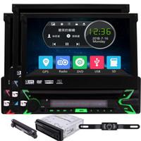 Wholesale gps car radio system for sale - Group buy FM AM RDS Radio Receiver Subwoofer Aux Car PC Entertainment system Eincar GB Map Single din Car Automotive Radio Stereo GPS