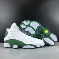 Good Quality 13 Ray Allen PE Man Basketball Designer Shoes White Clover XIII Fashion Sport Sneakers Come With Box Size US7-12