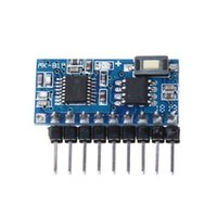 Wholesale universal controller codes resale online - AK B19 Button Keys Wireless Remote Control MHZ Learning Code Controller with LED Light Module Receiver