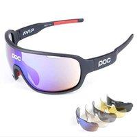 fahrrad sonnenbrille frauen großhandel-Polarisierte radfahren brille outdoor sports fahrrad sonnenbrille männer frauen gafas ciclismo fahrrad sonnenbrille brille brillen 5 objektiv