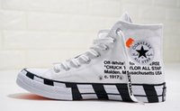 ingrosso scarpe da tennis in tela mens-2019 converses shoes chaussures chuck 70 Hi White Nero anni '70 Mens One chuck anni '70 Casual Scarpe di tela per designer da skate Donna Sneakers da ginnastica Chaussures 36-44