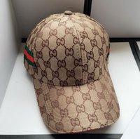 Wholesale baseball hats resale online - Fashion Mens Baseball Caps New Hats Men Women casquette Sun Hat Sports hats for Men Women Embroidery Caps