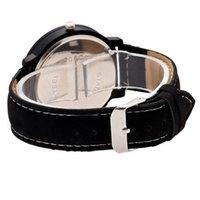 könig quarzuhren großhandel-Neu König Königin Leder Uhren Frauen Liebhaber Quarzuhr Männer Marke Luxus Armbanduhr Weiblich Männlich Quarz Liebhaber Uhren DOD886