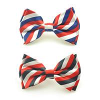 Wholesale new designs for silk printing resale online - New Fashion quot Blue White Black Netherlands quot Design Mix Bow tie for Men Men s Unisex Tuxedo Dress Shiny