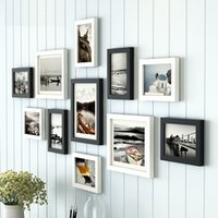 Wholesale Modern Style set Photo Frames Combination Picture Frame For Wall Decoration Picture Frame Set Living Room Decor Photo