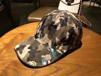 chapéus de exército de qualidade venda por atacado-De alta qualidade lona exército verde cocar chapéus esportes ao ar livre lazer chapéu de sol designer de boné de beisebol marca caps com caixa