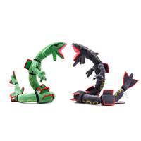 packen spielzeug maschine großhandel-30 zoll Pokemons MEGA Super sky dragon Plüschtiere Weiche angefüllte nette Zupackenmaschine Puppe Für Kinder geburtstag beste geschenk lol
