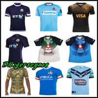 38aedf02a 2018 2019 20 Scotland rugby Jerseys NRL Rugby Blues State rugby shirt Bulls  JAGUARES Italy South Africa St George Illawarra Dragons jersey