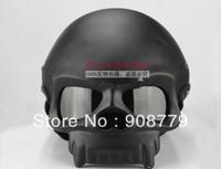 Wholesale half skull helmets for sale - Group buy MaHELMET Mary Star child matte white skull motorcycle helmet half helmet D
