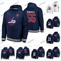 jatos hoodies venda por atacado-Mark Scheifele Winnipeg Jets 2019 clássico Hoodie Heritage Blake Wheeler Josh Morrissey Nikolaj Ehlers Kyle Connor Patrik Laine Andrew Copp