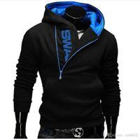 ingrosso 6xl assassini creed hoodie-Giacca 6XL marca di modo Hoodies Uomini Felpa Tuta Maschio Zipper Hooded Casual Sportswear Moleton Masculino Assassins Creed