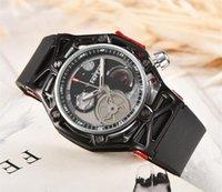 классические часы для швейцарских часов оптовых-2017 ТОП Швейцарский бренд Hubolt Наручные Часы Мода Классический Сапфир кожаный ремешок Автоматическое Движение Мужские Мужские Часы Часы КОРИЧНЕВЫЙ И СЛИВЕР