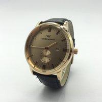 siyah kare erkek saatleri toptan satış-Ar erkek Gentalmen saatler ar saatler moda kol saati deri siyah kahverengi kare arama Üst markalar