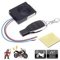master dc al por mayor-Alarm Master Motociclismo Moto Vespa antirrobo Seguridad Alarma DC 12V Moto Bike alarmas del sistema con control remoto