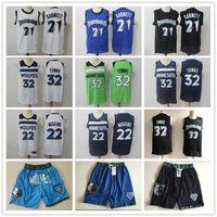 Wholesale garnett jerseys resale online - Mens Minnesota Timberwolves Throwback Kevin Garnett Karl Anthony Towns Andrew Wiggins Shorts Basketball Jerseys