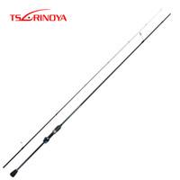 цуринойя приманка оптовых-TSURINOYA DEXTERITY 2.16m UL Carbon Spinning Fishing Rod Ultralight Lure Rod FUJI Accessories Canne A Peche Hand Fishing Tackle