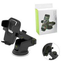 suporte para gps ajustável venda por atacado-Livre Epacket Universal Mobile Car Phone Holder 360 graus suporte ajustável Janela Pára-brisas Painel Suporte para todos os titulares Celular GPS