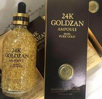 Wholesale Brand New K GOLDZAN AMPOULE Cosmetics Essence Serum Face makeup by Skinatural DHL Free